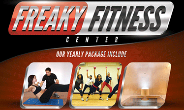 Freaky Fitness Center - P1